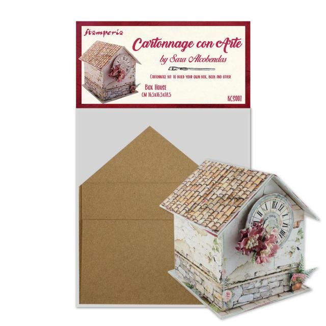 Stamperia Box House KCS001