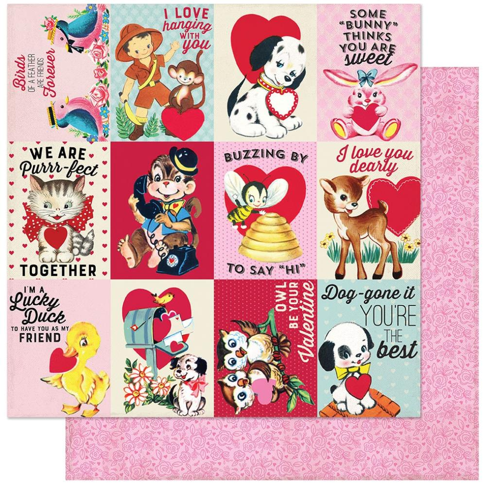 "Authentique - Love Notes Double-Sided Cardstock 12""X12"" LVN08"