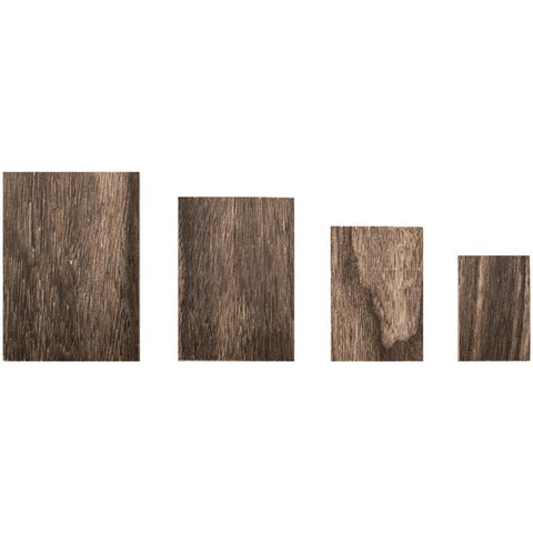 Idea-Ology Wooden Vignette Panels 4/Pkg 93295