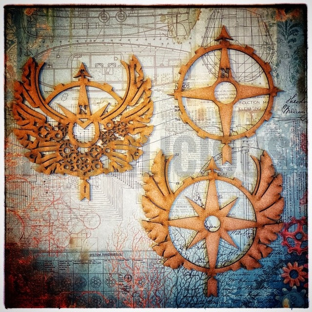 Hobbilicious - Winged Compass Trio