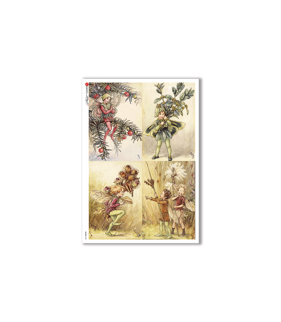 Paper Designs - FAIRIES-0058. RICE PAPER