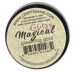 Lindy's Stamp Gang - Gleaming Gold - ABstudion inspired Glitzy Magical