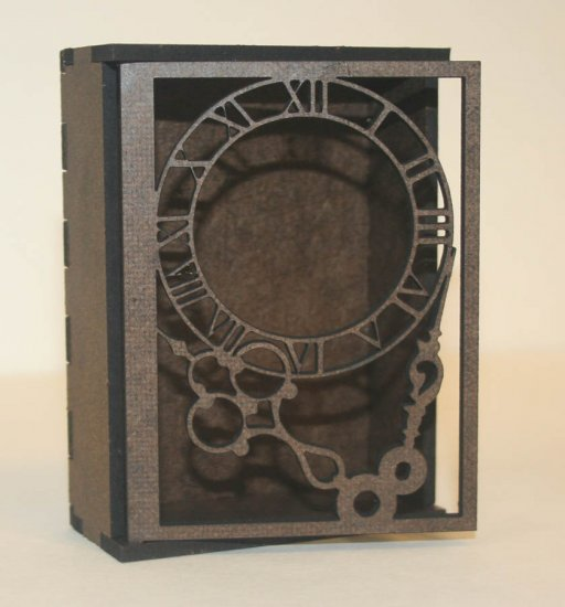 Gypsy Soul Laser Cuts - ATC Shrine - Time