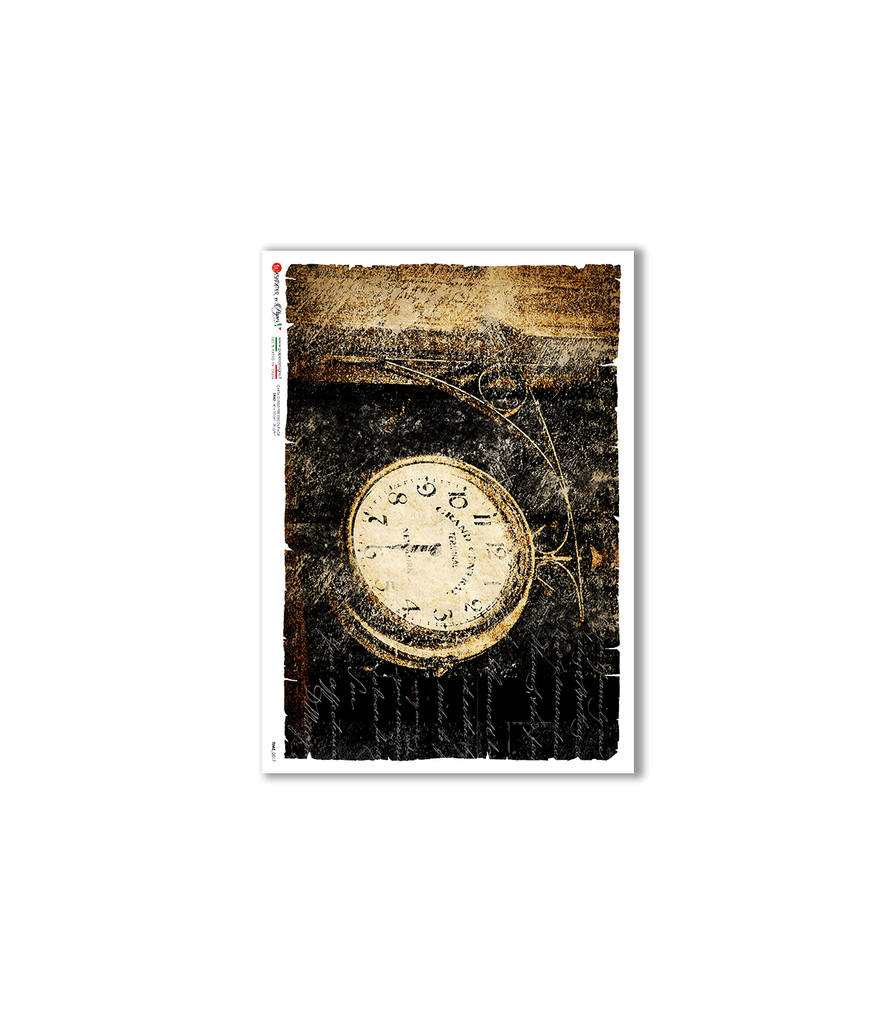 Paper Designs - TIME-0017. WATCHES RICE PAPER