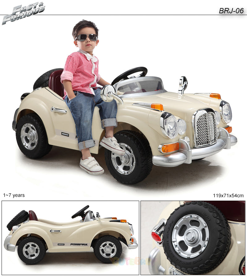 Kid Battery Operated Ride - Classic Car