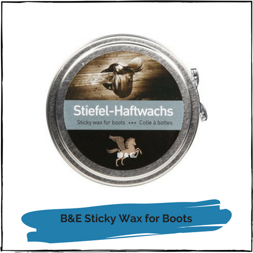 B & E Sticky Wax for Boots