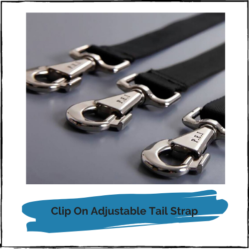 Clip On Adjustable Tail Strap