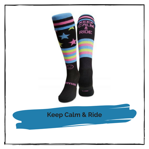 Riding Socks (Keep Calm & Ride)