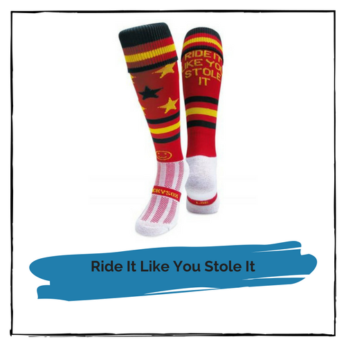 Riding Socks (Ride It Like You Stole It)
