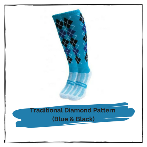 Riding Socks (Traditional Diamond Pattern)