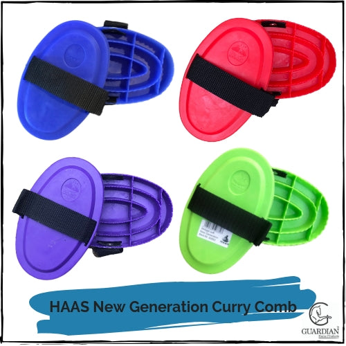 HAAS New Generation Soft Curry Comb