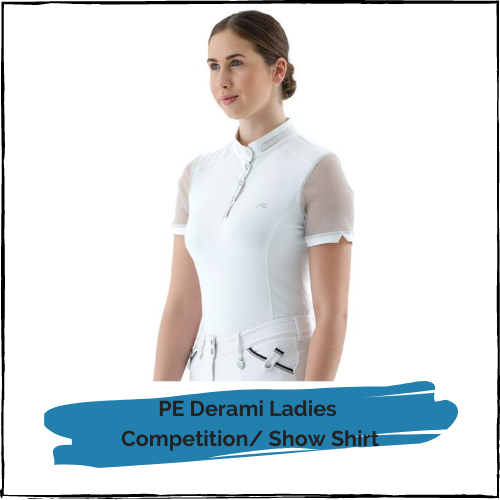 PE Derami Ladies Competition/Show Shirt