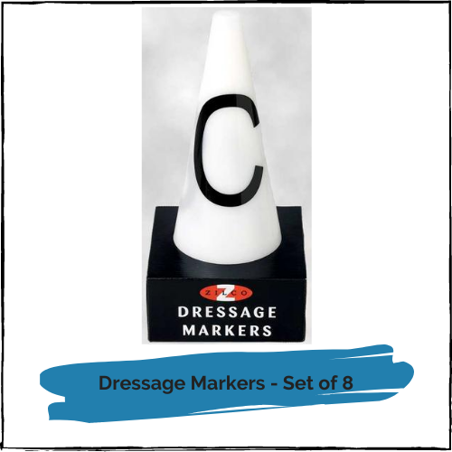 Dressage Markers - Set of 8
