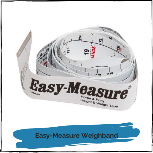 Easy-Measure Weighband