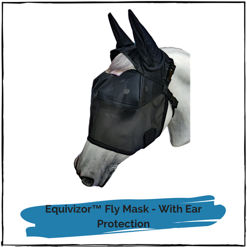 Equivizor™ Fly Mask - With Ear Protection