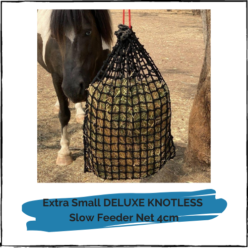 Extra Small DELUXE KNOTLESS Slow Feeder Net 4cm