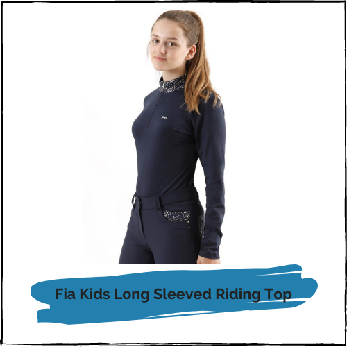 Fia Kids Long Sleeved Riding Top