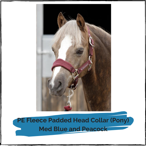 PE Fleece Padded Head Collar - Pony