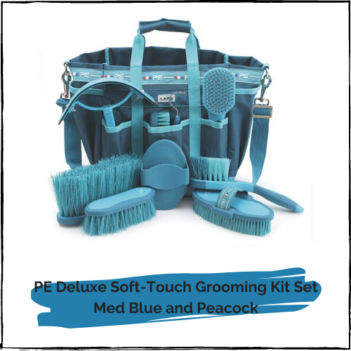 PE Deluxe Soft-Touch Grooming Kit Set