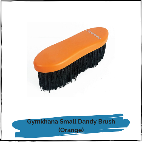 Gymkhana Small Dandy Brush - Orange