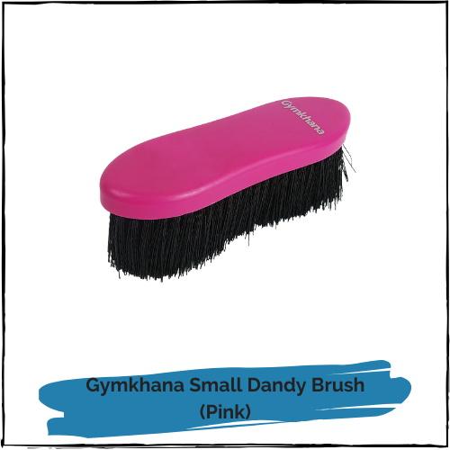 Gymkhana Small Dandy Brush - Pink
