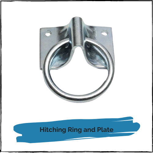 Hitching Ring And Plate