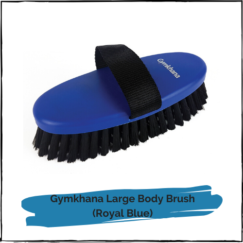 Gymkhana Large Body Brush - Royal Blue
