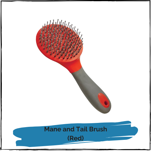 Mane and Tail Brush - Red