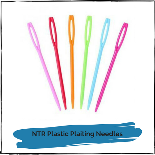 NTR Plastic Plaiting Needles