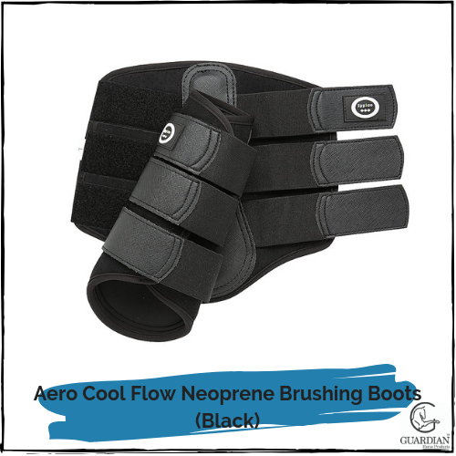 Cool Flow Neoprene Brushing Boots - Black