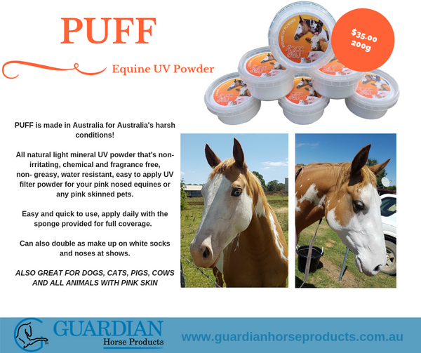 PUFF Equine UV Powder 200g