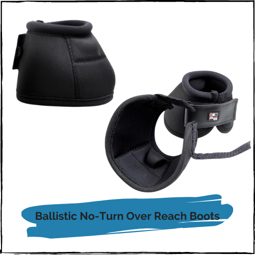 Ballistic No-Turn Over Reach Boots