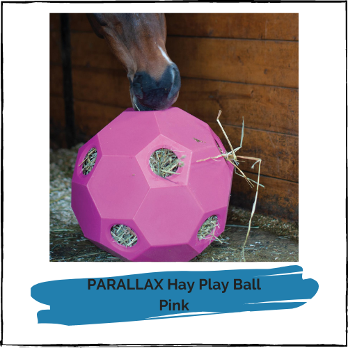 PARALLAX Hay Play Ball - Pink