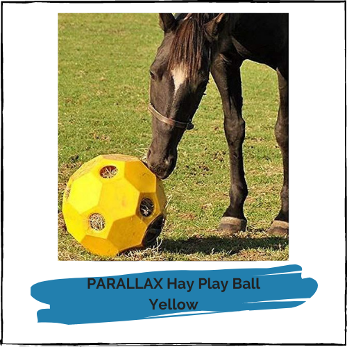 PARALLAX Hay Play Ball - Yellow