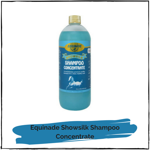 Equinade Showsilk Shampoo Concentrate 1 litre