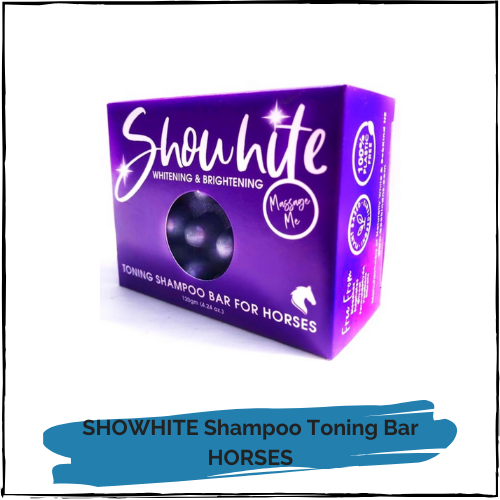 SHOWHITE Shampoo Toning Bar for HORSES