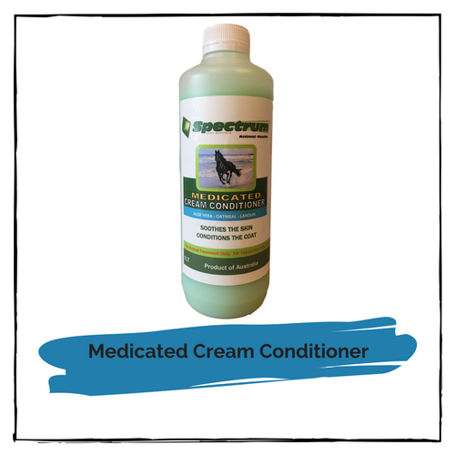 Spectrum Medicated Cream Conditioner 1 litre