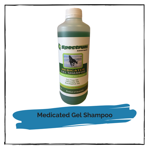 Spectrum Medicated Gel Shampoo 1 litre