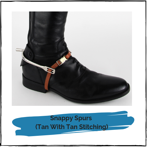 Snappy Spurs - Quick Release Spur Straps