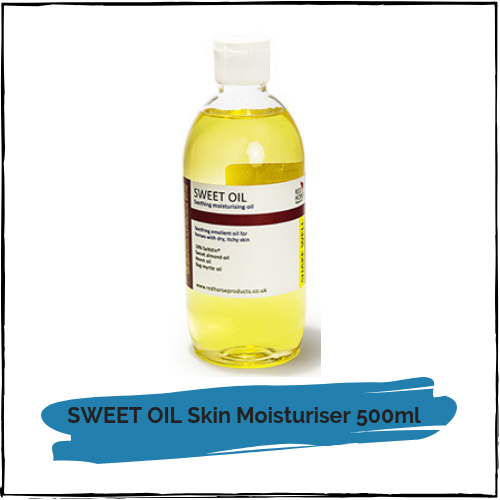 SWEET OIL Skin Moisturiser 500ml