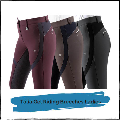 Talia Gel Riding Breeches Ladies