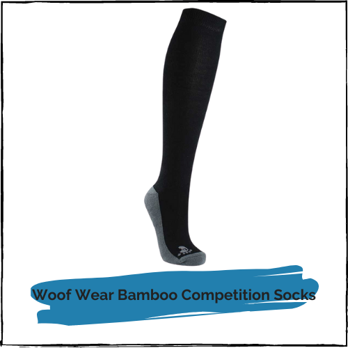 Woof Wear Bamboo Competition Riding Socks (2 Pack)