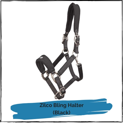 Bling Halter - Black