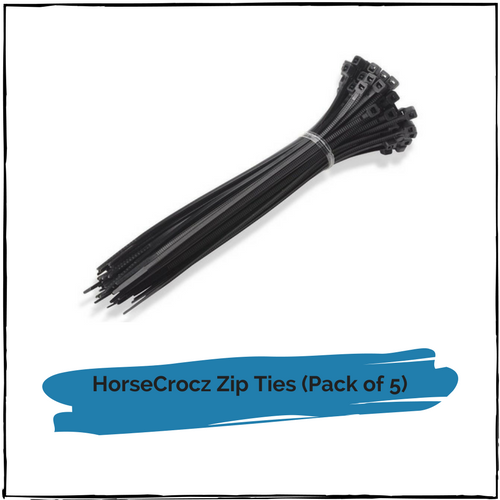 HorseCrocz Zip Ties (5 pack)