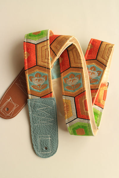 Singing Crane - Beautiful guitar strap - Kikko (SC105117) SALE