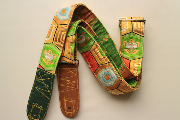 Singing Crane - Beautiful guitar strap - Kikko-g (SC105317) SALE