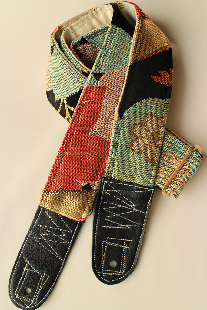 Singing Crane - Beautiful guitar strap - Sho-cg (SC108117)