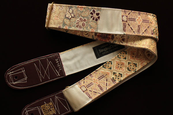 Singing Crane - Beautiful guitar strap - Shion-gy (SC109217)