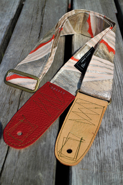 Singing Crane - Beautiful guitar strap - Ginbeni (SC104117)