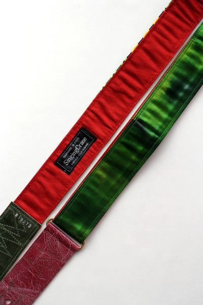 Singing Crane - Beautiful guitar strap - Soryoku-rd (SC18073)